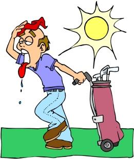 golf & heat
