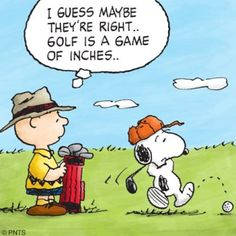 Snoopy a game of inches