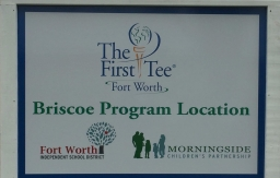 The First Tee at Briscoe Elementary Grand Opening